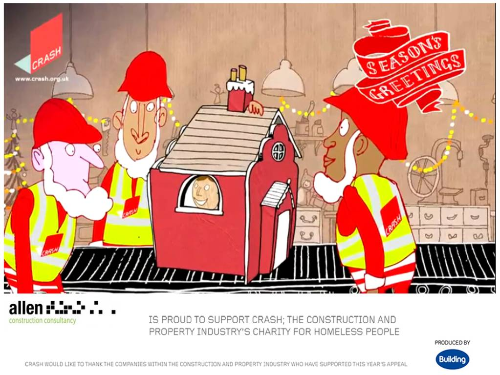 Allen Construction Company Christmas card
